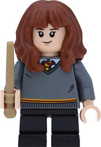 LEGO Harry Potter Minifigur: Hermine / Hermione Granger mit Zauberstäben