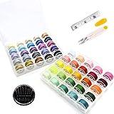 DAIRF Spulen Nähmaschine in 50 Farben, Spulen mit...