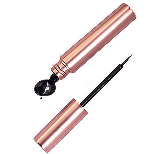 Magnetischer Eyeliner Wasserfest Schwarz, Schminke Magnet Wimpern Liquid Eyeliner Flüssig Dünn, Magnetische Wimpernkleber für Wimpernverlängerung Augen Kosmetik