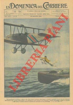 Un aviatore riesce a spiccare un salto da un motoscafo che corre alla velocita' di 80 miglia e ad aggrapparsi alla scaletta di un aeroplano, dal quale poi torna al motoscafo servendosi di un paracad