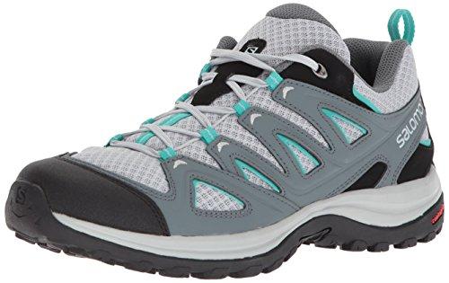 Salomon Women's Ellipse 3 AERO W USA Hiking Shoe, Quarry, 7.5 M US