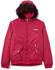 Regatta Benicia Waterproof Taped Seams Insulated Lined Hooded Jacket With Reflective Trim Chaqueta Unisex niños