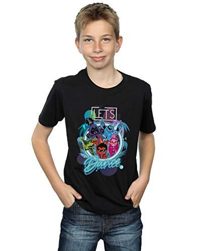 DC Comics Niños Teen Titans Go Let's Dance Camiseta Negro 5-6 Years