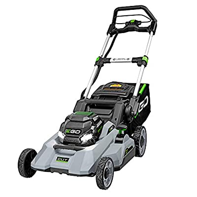 EGO Power+ LM2130 21-Inch 56-Volt Cordless Select Cut Lawn Mower Battery and Charger Not Included, Black