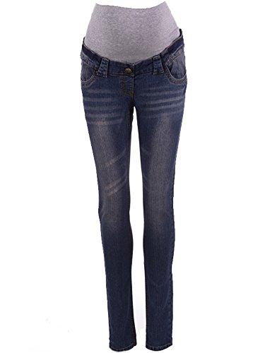 Jeans premaman skinny, taglia UK 10 - Regular 78,7 cm Denim