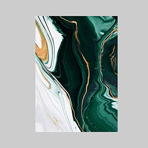 XXXKK Alfombra De Franela,Impresión Creativa Moderna Verde De La Alfombra Duradera del Río, Esponjoso, Suave Y Antideslizante Interior Y Al Aire Libre Alfombra De Decoración del Hogar para El D