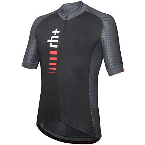 rh+ Maglia Ciclismo Primo Uomo, Nero, XL