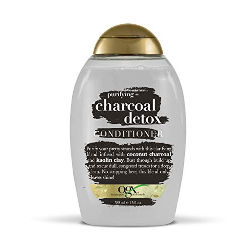 OGX Purifying + Charcoal Detox Conditioner, 13 Ounce