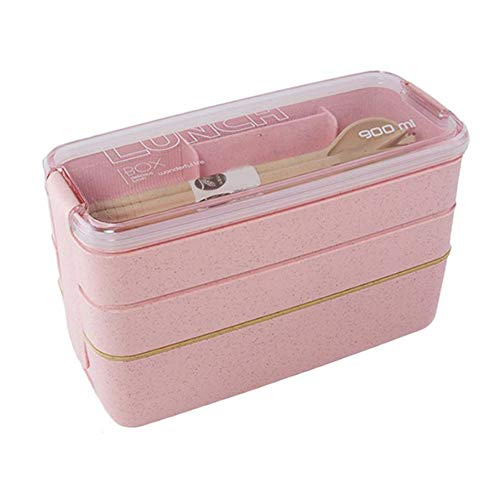 900ml 3 Layer tarwestro Bento Box Lunch Box Student Lunch Box Plastic Preservation Box Voedsel Container van de Opslag foodbox (01)