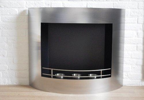 Fireplace Gel/Ethanol Model Jody XL Stainless Steel CE...