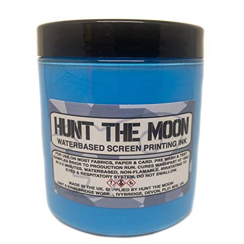 Hunt The Moon - Inchiostro a base acqua, Ibiza Blue, 240 ml