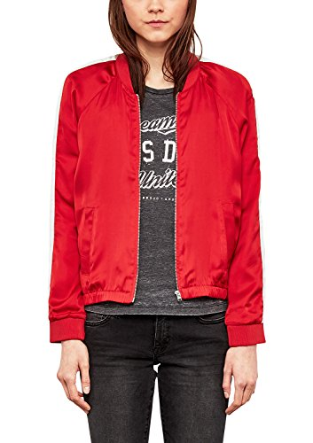 Q/S designed by - s.Oliver Damen 41.802.54.3309 Jacke, Rot (Real Red 3117), Medium