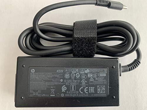 Original HP 15V 3A 45W USB Type C for HP CHROMEBOOK 14B-CA0036NR, 11A G6 EE, L42206-003, L43407-001, L64297-004, TPN-AA07, L42206-004, 935444-002, 844205-850, TPN-LA19, L43407-001, L42206-001.