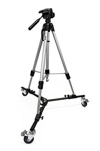 """Opteka M3Profesional Heavy Duty plegable trípode Dolly con funda y 70""""trípode para cámaras de fotos y vídeo"""