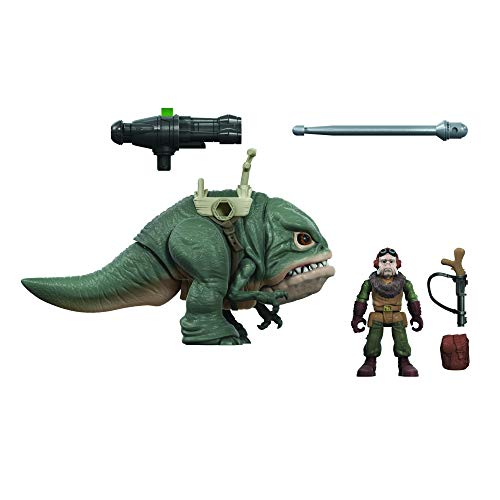 STAR WARS Mission Fleet Expedition Class Kuiil with Blurrg Toys, Blurrg Battle Charge 2.5-Inch-Scale Figures, Toys for Kids Ages 4 and Up