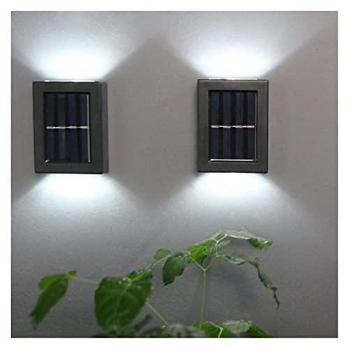WHTYY iluminación Impermeable DIRIGIÓ Luz de Pared al Aire Libre Impermeable IP65 Lámpara de Pared del Porche Garden y decoración de Dormitorio de Noche Interior Iluminación Lámparas solares