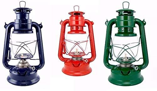Lampião Retrô 300 Ml Vintage Western Vermelho