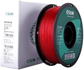 eTwinkling 3D Printer filament eSun, 1.75 mm, 1 kg, Red