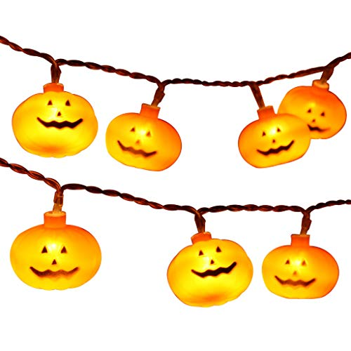 Fantastic Pumpkin LED String Lights Halloween Decoration Accessories Lamp Horror Cell Phone Accessories Case