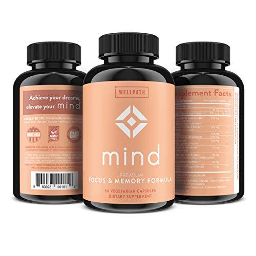 WellPath Mind & Brain Supplement-Natural Formula