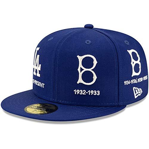 New Era 59Fifty Cap Cooperstown Los Angeles Dodgers - 7 1/8
