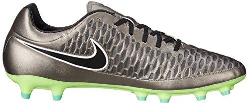 Nike Magista Onda FG, Botas de fútbol para Hombre, Plateado/Negro/Verde/Blanco (Mtlc Pewter/Black-Ghst Grn-Wht), 38.5 EU