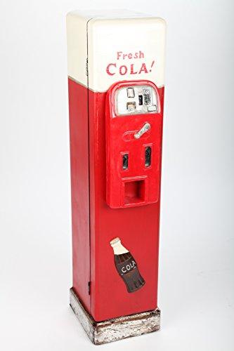point home Design-Schrank Getränke-Automat, Retro, rot/weiß, 84cm