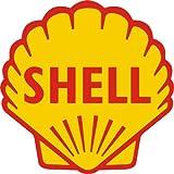 Shell Gasoline Logo Vinyl Vinyl Decal Sticker Car Decal Bumper Sticker for Use on Laptops Windowson Water Bottles Laptops Windows Scrapbook Luggage Lockers Cars Trucks