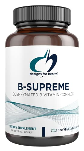 Designs for Health B-Supreme - B Vitamin Complex with B1, B2, B3, B6 +...