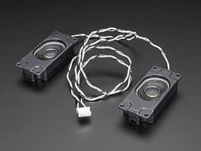 Adafruit Stereo Enclosed Speaker Set - 3W 4 Ohm