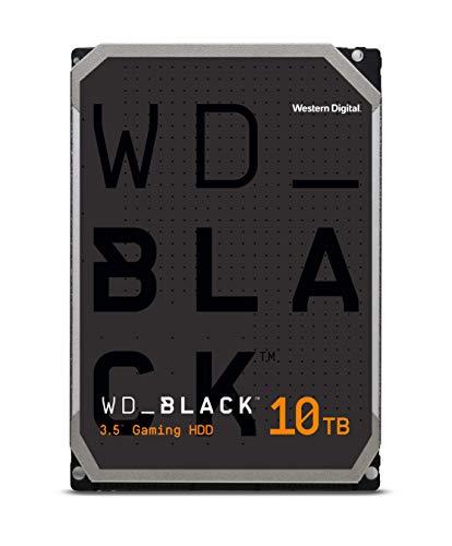 WD BLACK Disco duro interno de adecuado rendimiento de 3.5 pulgadas y 10TB, Clase de 7200rpm, SATA de 6Gb s, caché de 256MB