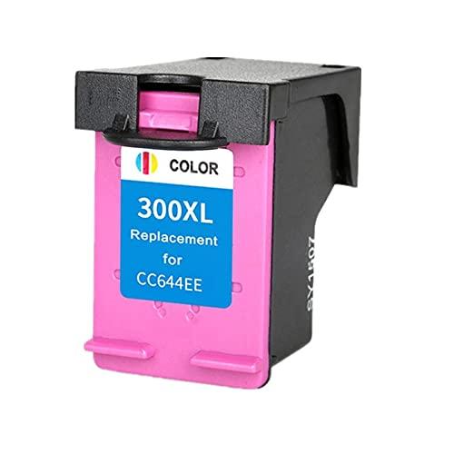 30 0XL Cartucho de Tinta de Color CC644EE Reemplazo for HP 300 Tricolor for HP Deskjet D1660 D2560 D5560 F2420 F2480 F4210 Impresoras