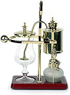 Luxury Royal Family Siphon/Syphon Balance Coffee Maker Gold Polished Brass
