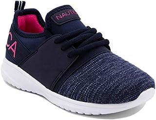 Nautica Girls' Kappil Sneakers (Sizes 13-5)