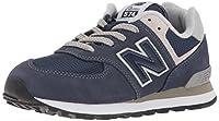 new balance 574, scarpe da ginnastica unisex-bambini, blu (navy), 38 eu