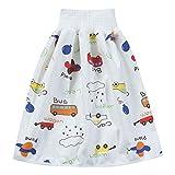 Amusingtao Bequeme 2-in-1-Windelrock für Kinder, kurze Hose, Pumphose für Babys, Jungen, Mädchen, lockere Haremshose