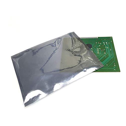 DBSCD 200 Pcs Antistatic Bag,antistatische Taschen,wiederverschließbare Abschirmung Flat Open Top Tasche für elektronische Geräte Laptop-Festplatten Speicherkarte,Geräte