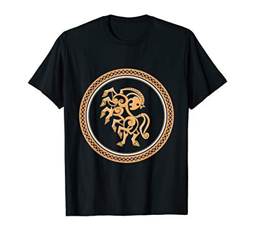 Norse Mythology Sleipnir Viking Horse T-Shirt