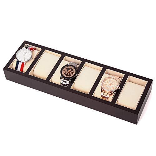 XLAHD Caja de joyería Caja de Reloj Hombres Mujeres Cajas d