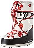 Moon-boot Moon Boot Jr Girl Ladybug Botas de Nieve, Unisex Niños, Multicolor (Multicolor 001), 35 EU