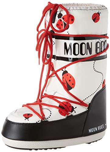 Moon Boot Mädchen Jr Girl Ladybug Schneestiefel, Mehrfarbig (Multicolor 001), 23 EU