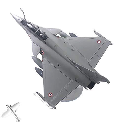 dailymall Aleación 1/72 Dassault Rafale Avión de Combate Aviones Fuerza aérea Diecast Regalo
