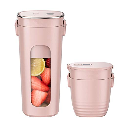 CHYIA 300Ml Portable Blender,Personal Blender Rechargeable with USB, Mini Blender for Smoothie,Fruit Juice,Milk Shakes,for Home/Office/Sport/Outdoors,Handheld Blender