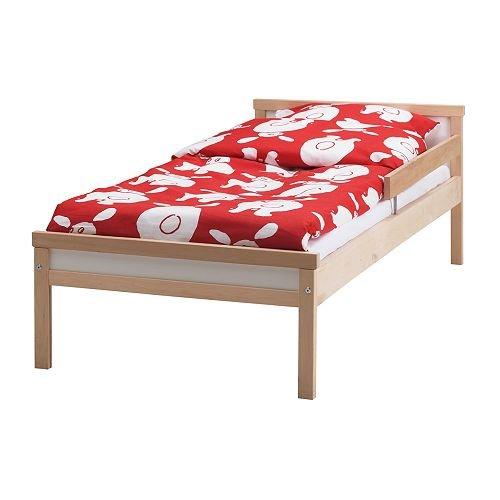 ★スニーグラル / SNIGLAR ベッドフレームとすのこ(組み合わせ) / ビーチ[イケア]IKEA(S79873037)