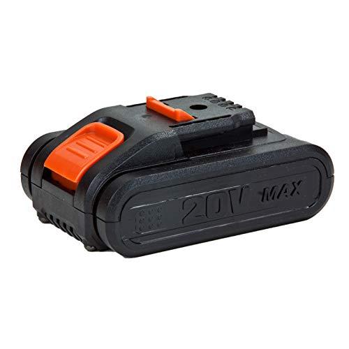 Grafner 20V Mobiele accu, hogedrukreiniger, 22 bar, met lans, accu, oplader, borstel, watermmer, schuimmondstuk, slang 1 x extra 20 V accu 2000 mAh. zwart