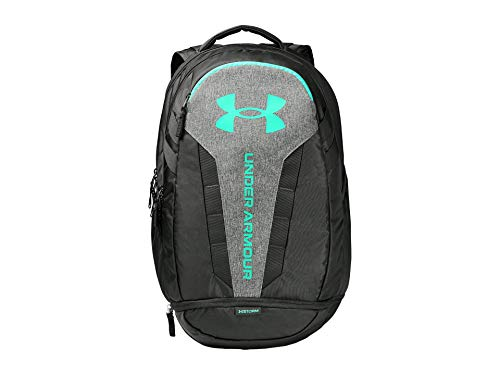 Under Armour Hustle Backpack, Baroque Green (310)/Comet Green, One Size Fits All