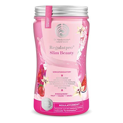 Regulatpro Slim Beauty • Abnehmdrink mit Hyaluron • 540 g • Vanille Erdbeer