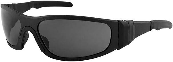 Liquid Eyewear Tflex model, Metal Aluminum Frame Sunglasses, Impact Resistant - Made in The USA (Matte Black, Smoke Non-po...