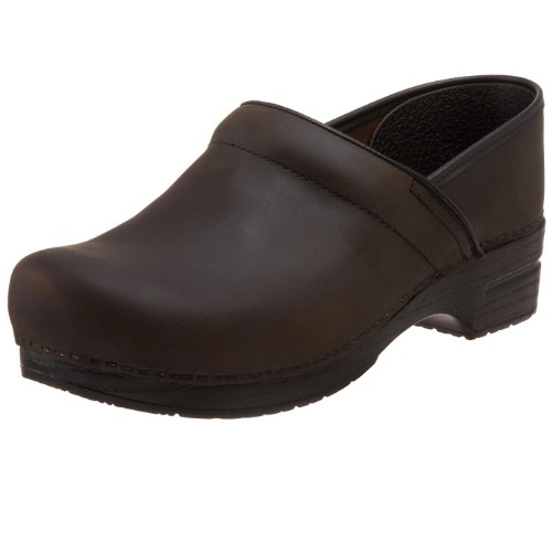 dansko, Mules pour Femme - Marron - Antique Brown Oiled, 47 EU