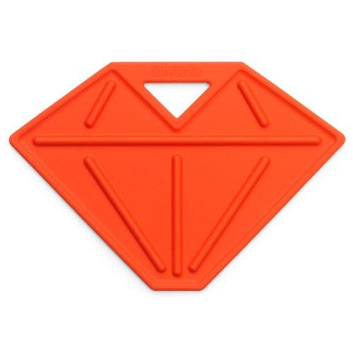 Accessoire Table à Repassage Brabantia, Support Fer à Repasser, Repose Fer, en Forme de Diamant, Orange, 102041